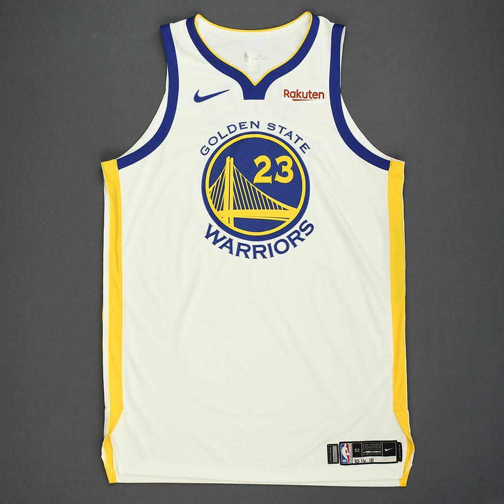 Draymond Green - Golden State Warriors - Kia NBA Tip-Off 2018 - Game-Worn Association Edition Jersey