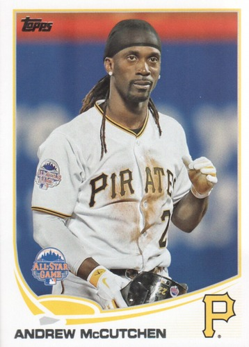 Photo of 2013 Topps Update #US35A Andrew McCutchen
