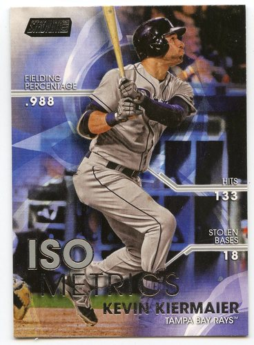 Photo of 2016 Stadium Club ISOmetrics #I3 Kevin Kiermaier