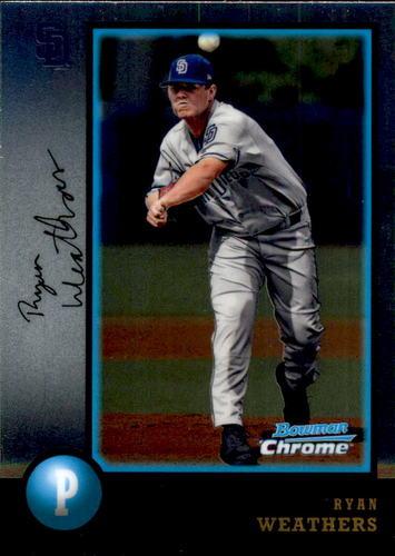 Photo of 2018 Bowman Chrome Draft '98 Bowman #98BRW Ryan Weathers