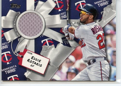 Photo of 2019 Topps Walmart Holiday Relics #WHRER Eddie Rosario