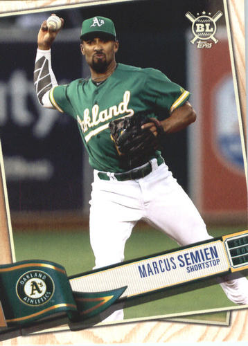 Photo of 2019 Topps Big League #36 Marcus Semien