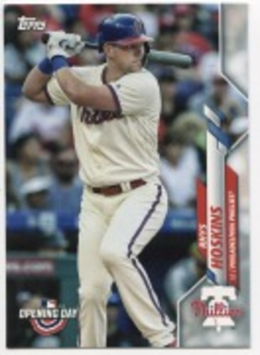 Photo of 2020 Topps Opening Day #156 Rhys Hoskins