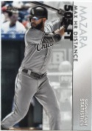 Photo of 2020 Topps Significant Statistics #SS13 Nomar Mazara