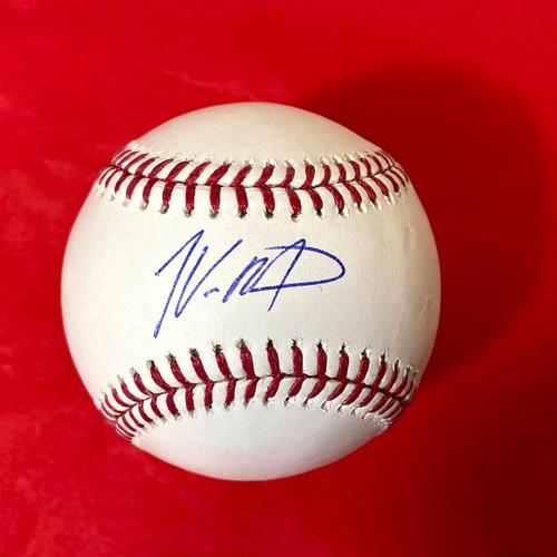 Photo of Josh VanMeter Autographed Baseball