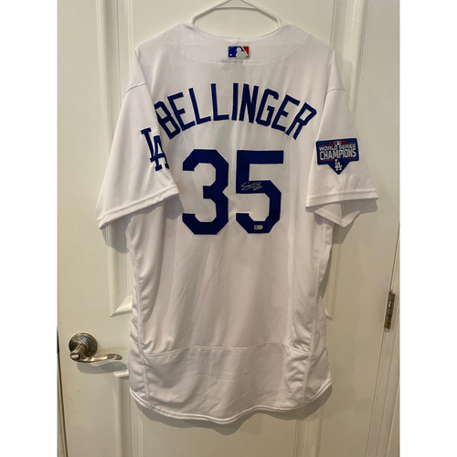 Photo of Cody Bellinger Authentic Autographed Los Angeles Dodgers Jersey
