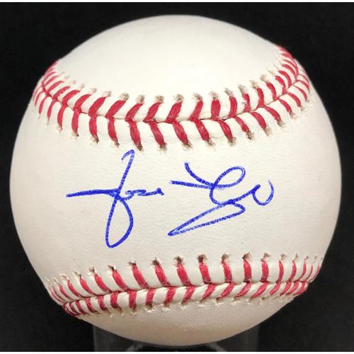 Photo of Jose Rijo -  Autographed Official Major League Baseball