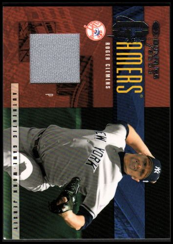 Photo of 2003 Donruss Gamers #5 Roger Clemens