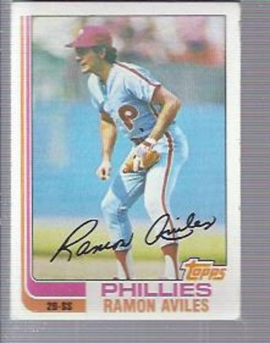 Photo of 1982 Topps #152 Ramon Aviles