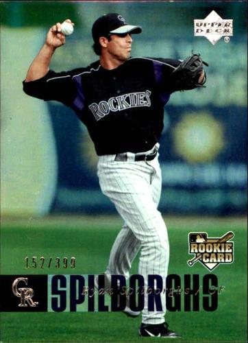 Photo of 2006 Upper Deck Rookie Foil Silver #968 Ryan Spilborghs /399