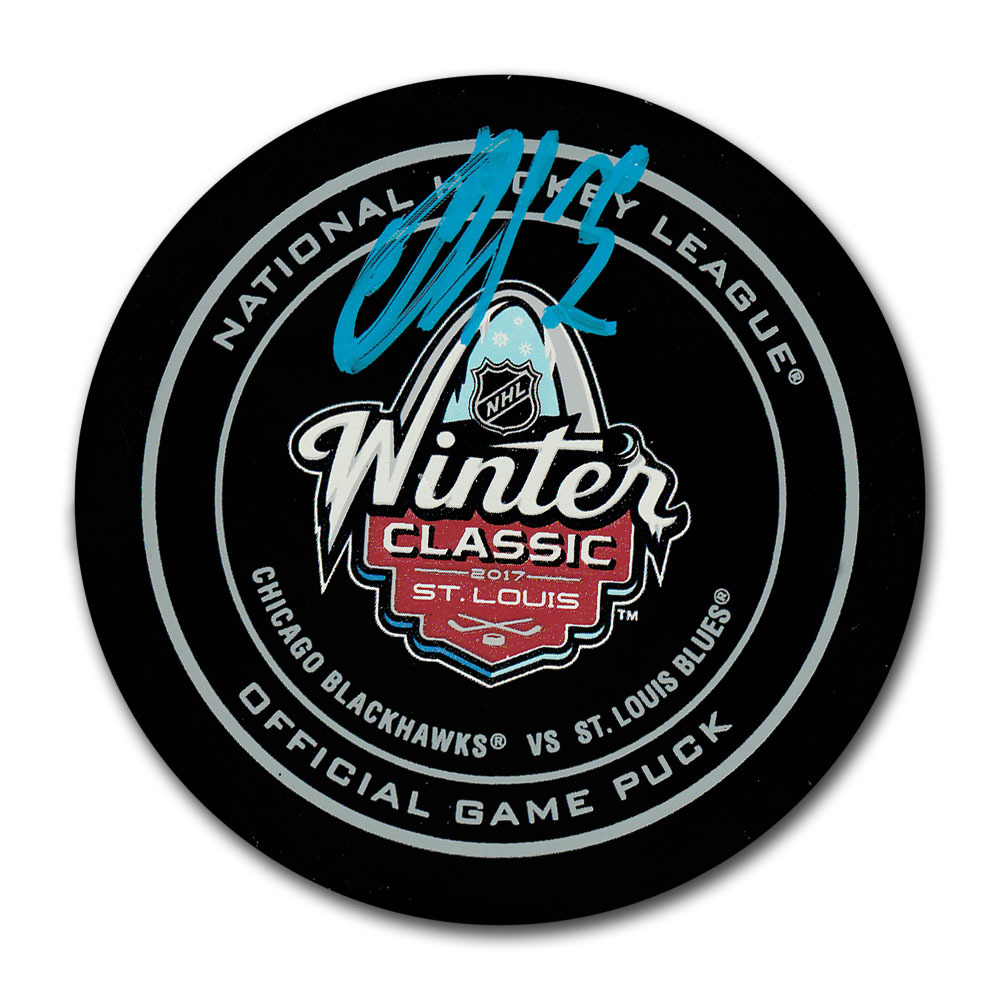 Artemi Panarin Autographed 2017 NHL Winter Classic Official Game Puck