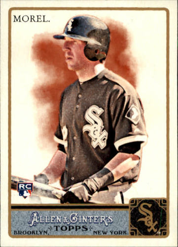 Photo of 2011 Topps Allen and Ginter #273 Brent Morel RC