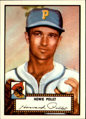 Photo of 1983 Topps 1952 Reprint #63 Howie Pollet
