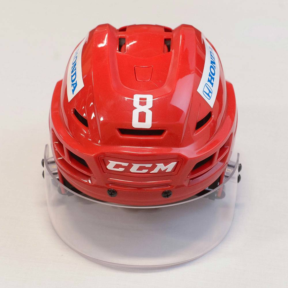 2018 AHL All-Star Challenge Helmet Worn and Signed by #8 Ty Rattie