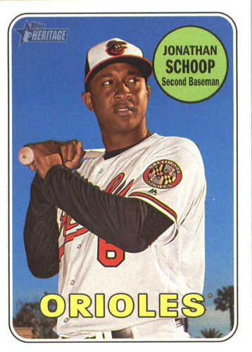 Photo of 2018 Topps Heritage #75 Jonathan Schoop