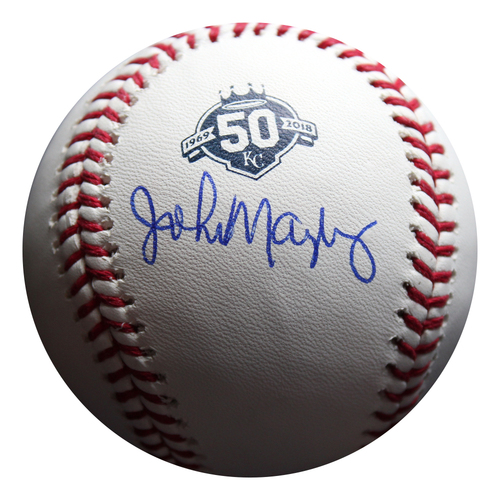 Photo of Autographed 50 Seasons Baseball: John Mayberry