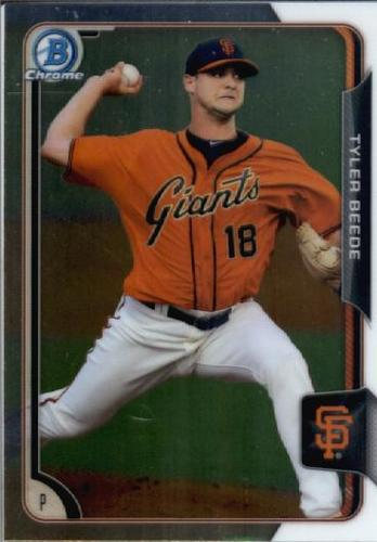Photo of 2015 Bowman Chrome Draft #191 Tyler Beede
