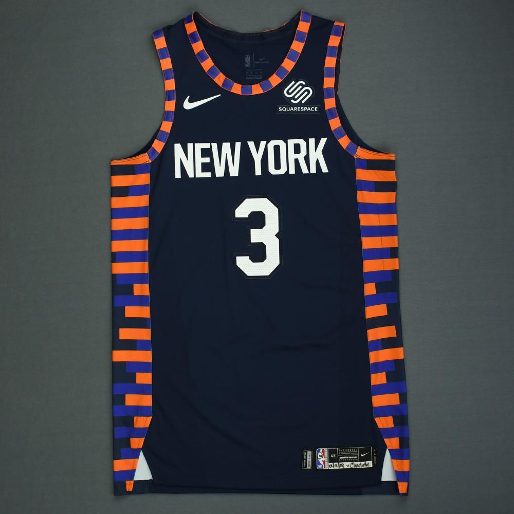 promo code 7ae93 6c6f2 Tim Hardaway Jr. - New York Knicks - Game-Worn City Edition ...
