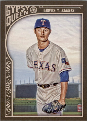 Photo of 2015 Topps Gypsy Queen #19A Yu Darvish