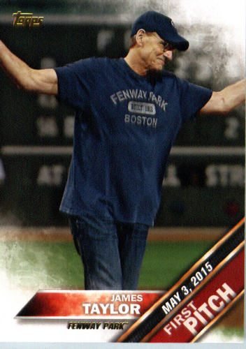 Photo of 2016 Topps First Pitch #FP11 James Taylor