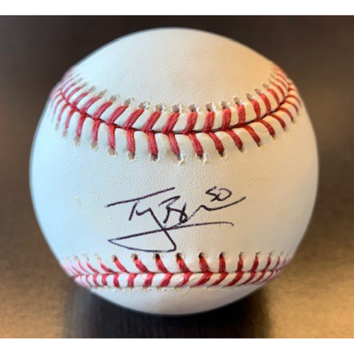 Photo of Giants Community Fund: Ty Blach Autographed Baseball