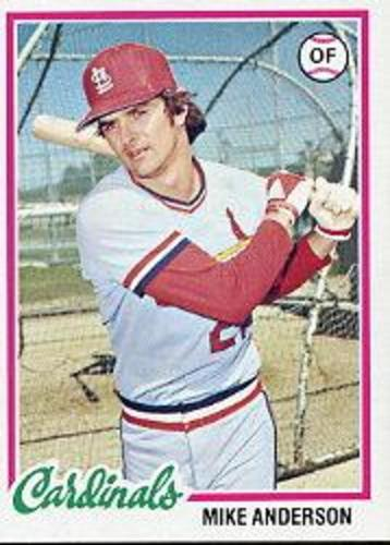 Photo of 1978 Topps #714 Mike Anderson