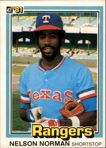 Photo of 1981 Donruss #509 Nelson Norman