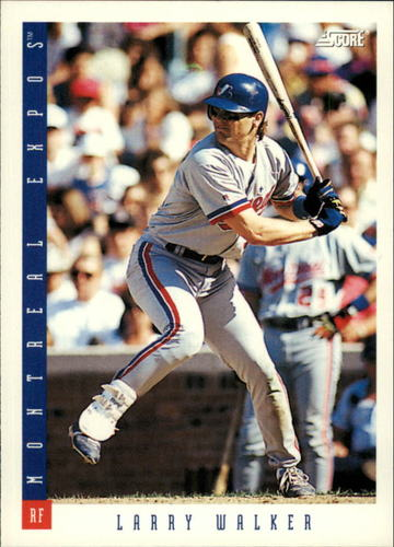 Photo of 1993 Score #5 Larry Walker