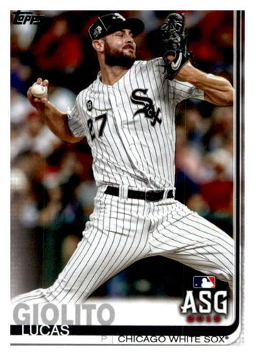 Photo of 2019 Topps Update #US24 Lucas Giolito AS