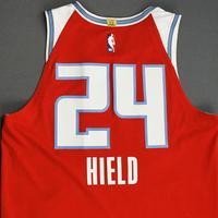 Buddy Hield - Sacramento Kings - Game-Worn City Edition Jersey - Scored 22 Points - 2019-20 Season