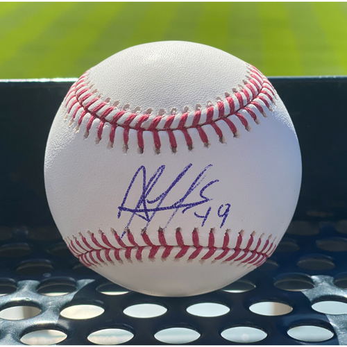 Photo of Colorado Rockies Autographed Baseball: Antonio Senzatela