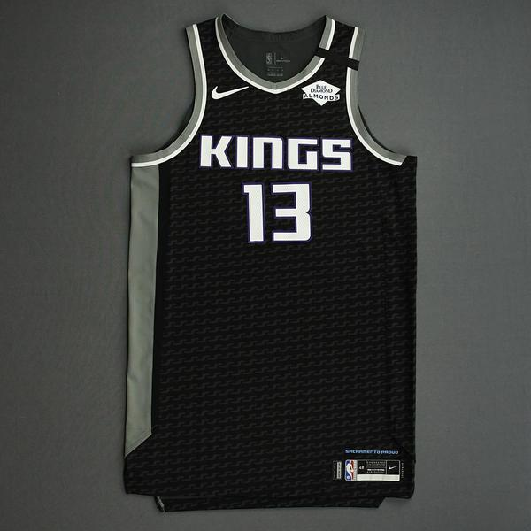 Image of Corey Brewer - Sacramento Kings - Game-Worn Statement Edition Jersey - 2019-20 NBA Season Restart with Social Justice Message