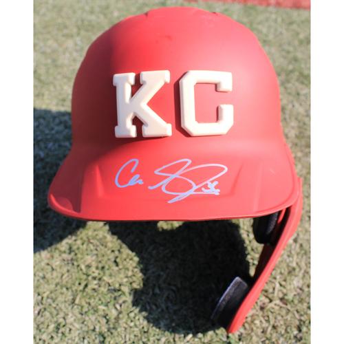 Photo of Autographed Monarchs Helmet: Cam Gallagher #36