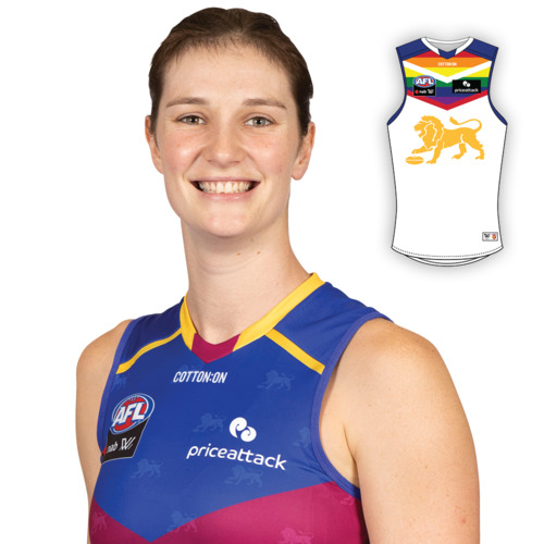 Photo of 2021 AFLW Pride Guernsey - Jessy Keefe