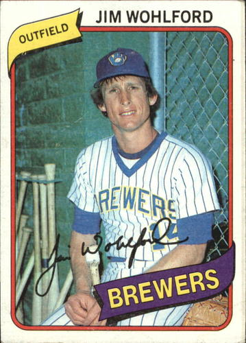 Photo of 1980 Topps #448 Jim Wohlford