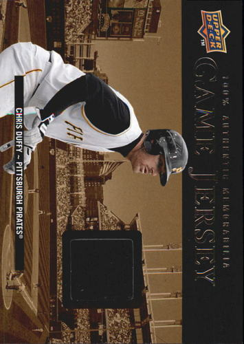 Photo of 2008 Upper Deck UD Game Materials 1999 #CD Chris Duffy