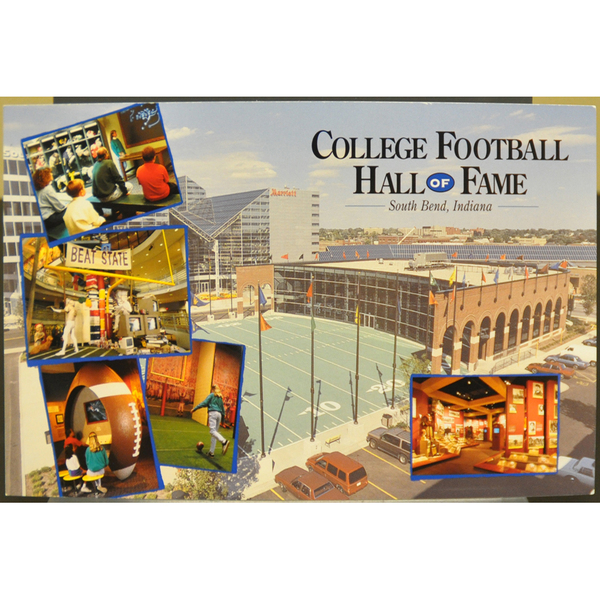 Photo of Leroy Keyes Autographed College Football Hall of Fame Postcard