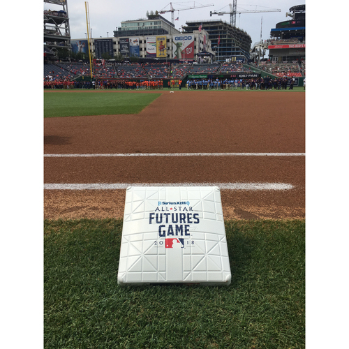Photo of 2018 MLB Futures Game - 1st Base Used Entire Game