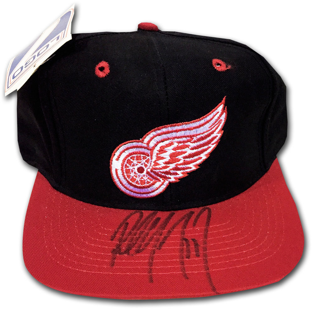 Paul Coffey Autographed Detroit Red Wings Hat
