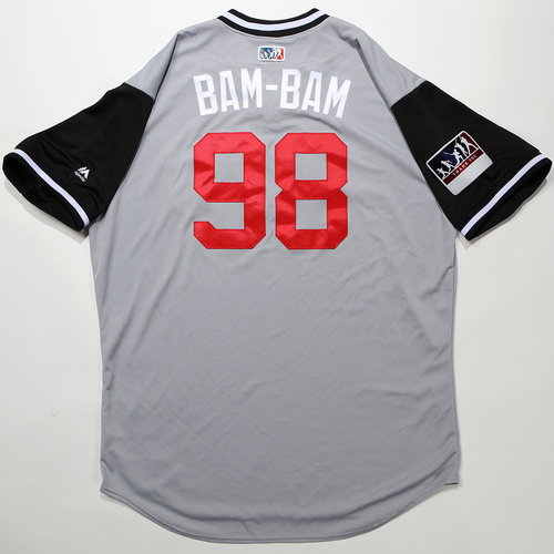 "Photo of Miguel ""BAM-BAM"" Gonzalez Chicago White Sox Game-Used 2018 Players' Weekend Jersey"