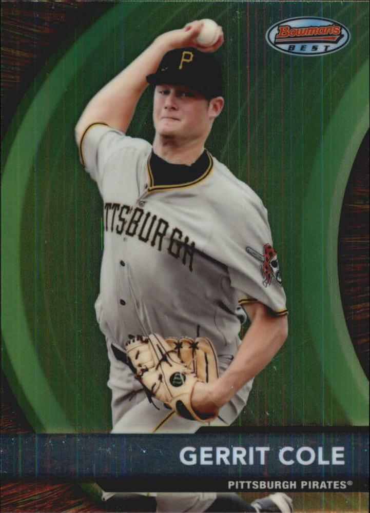 2012 Bowman Bowman's Best Prospects #BBP15 Gerrit Cole