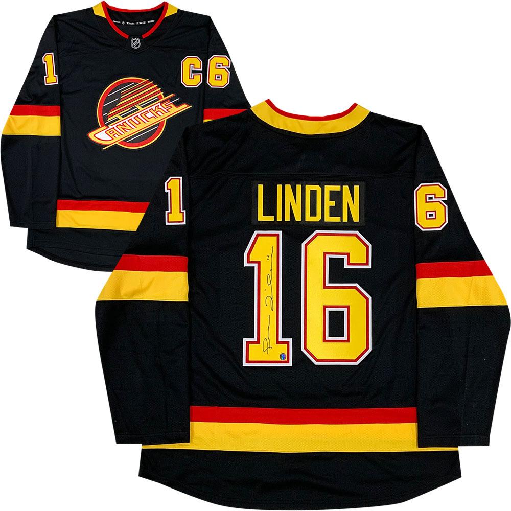 Trevor Linden Autographed Vancouver Canucks Jersey