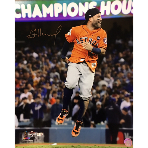 Jose Altuve Autographed 16x20 Photo - Celebration