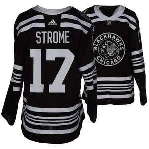 Dylan Strome Chicago Blackhawks Game-Worn 2019 NHL Winter Classic JerseyDylan  Strome Chicago Blackhawks Game-Worn 2019 NHL Winter Classic J.. a6a6603ff