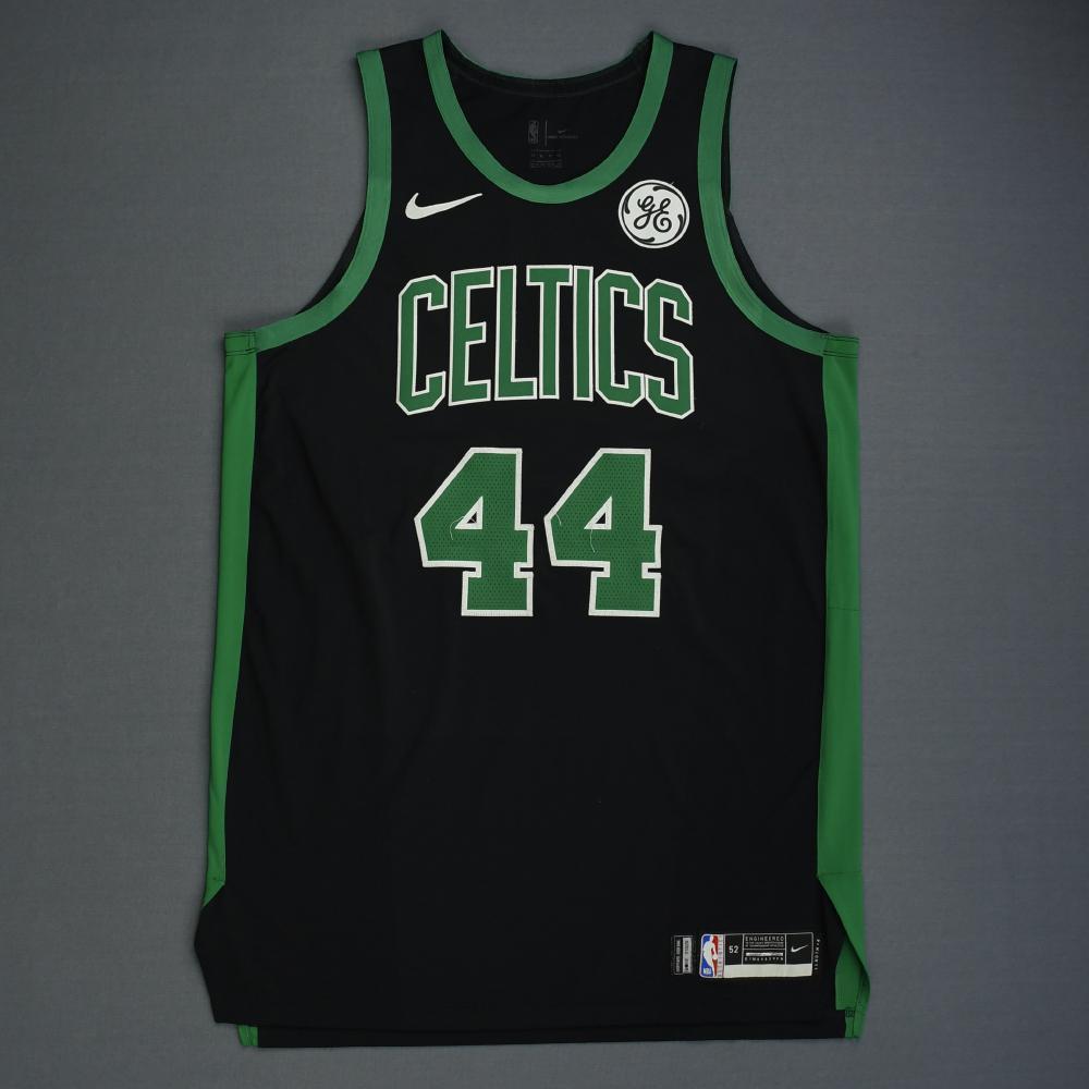 Robert Williams III - Boston Celtics - 2019 NBA Playoffs - Game-Worn Black Statement Edition Jersey