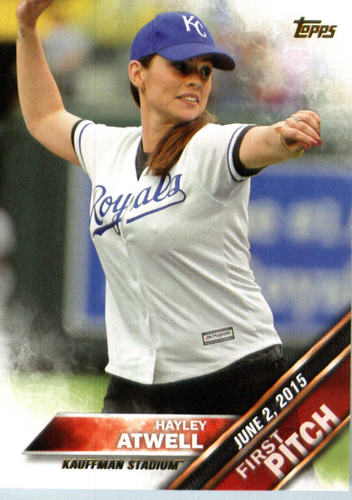 Photo of 2016 Topps First Pitch #FP14 Hayley Atwell