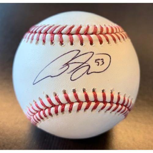 Photo of Giants Community Fund: Austin Slater Autographed Baseball