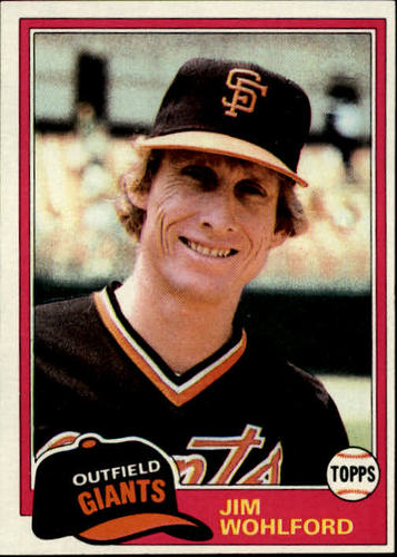 Photo of 1981 Topps #11 Jim Wohlford DP