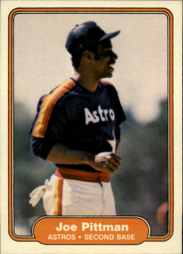 Photo of 1982 Fleer #222 Joe Pittman