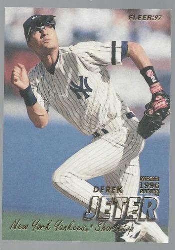 Photo of 1997 Fleer #168 Derek Jeter